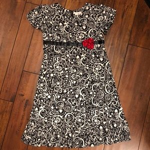 Hanna Anderson Girls Holiday Dress